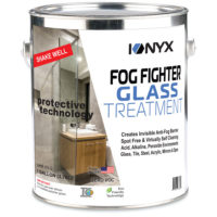 Fog Fighter Glass Treatment